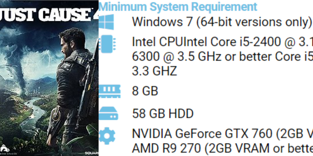 Just Cause 4 PC System Requirements 1