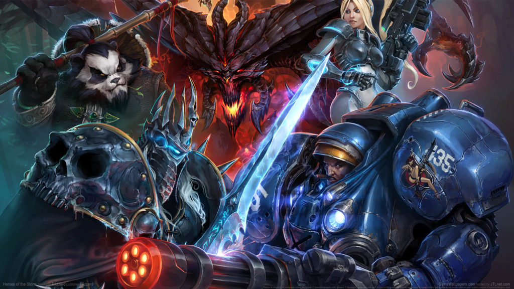 Heroes of the Storm HD Wallpaper Download for PC Windows 1