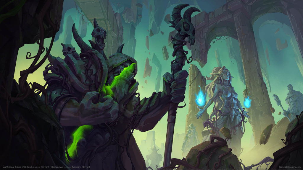 Hearthstone: Ashes of Outland HD Wallpaper Download for PC Windows 1