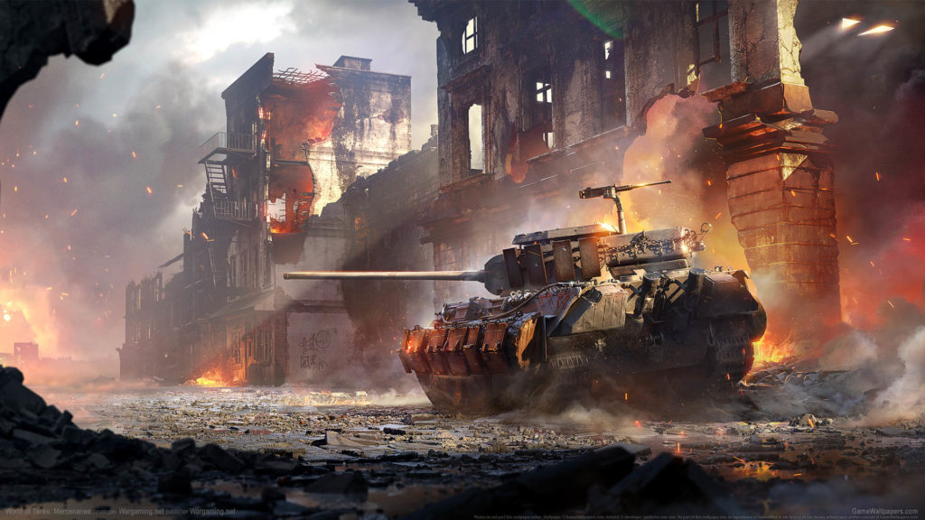 World of Tanks: Mercenaries HD Wallpaper Download for PC Windows 1