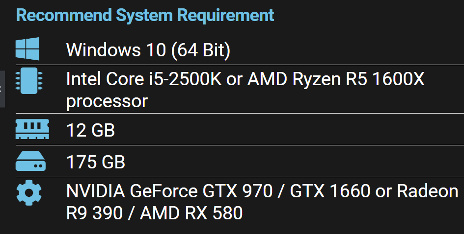 Call of Duty Warzone PC System Requirements 3