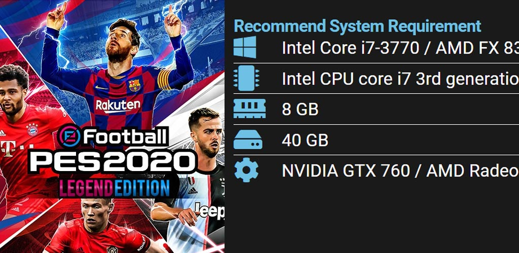 pes pc system requirement