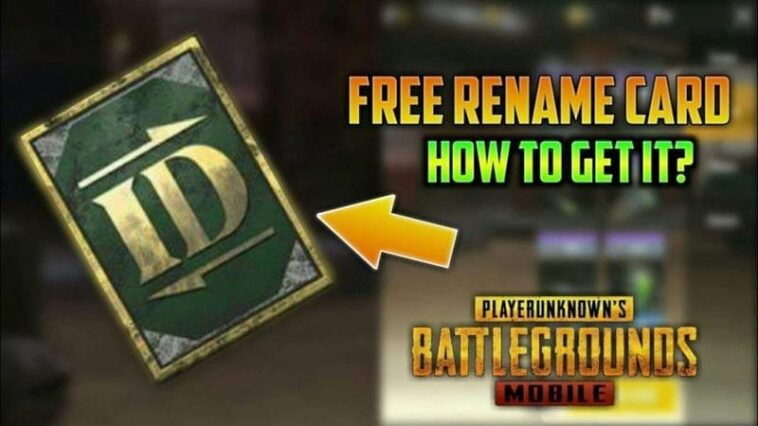 Change your name in PUBG Mobile 3