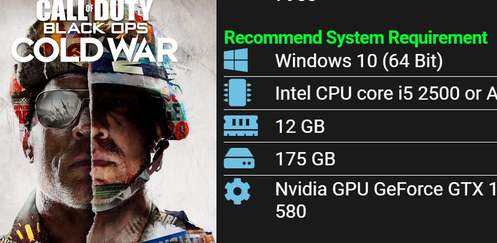 call of duty black ops cold war pc system requirement
