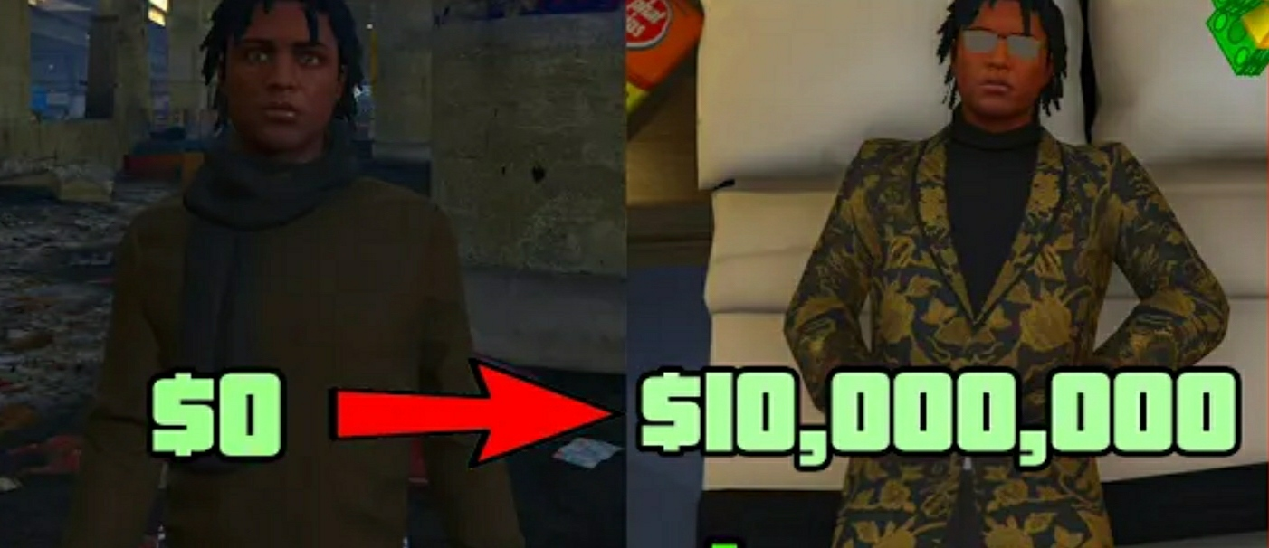 Get rich in GTA 5 online