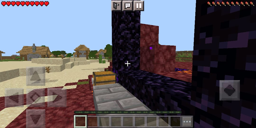 666 - Best Minecraft PE seed for speedrunning the game.