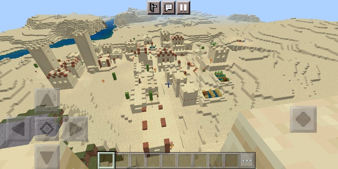 chancecash - Dessert Temple with different biomes.chancecash - Dessert Temple with different biomes.