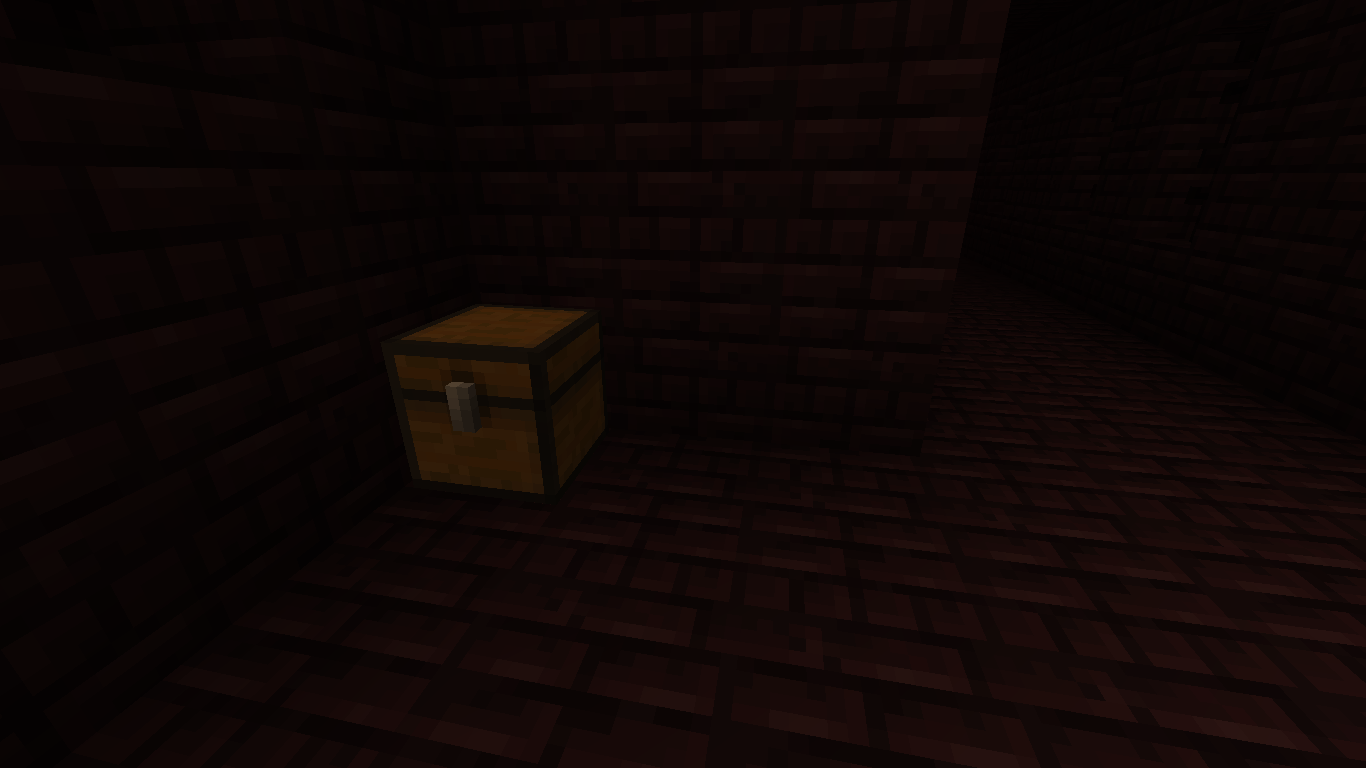 Saddle in nether fortress