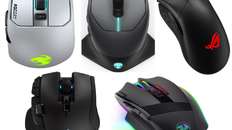 Top 5 Wireless gaming mouse under $100 1