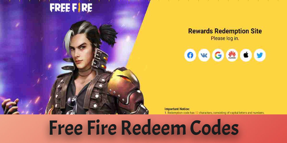 Garena Free Fire Redeem codes for today [ 27 April ] - Get free diamonds, pet, dj alok character and much more