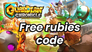guardian chronicle free rubies code