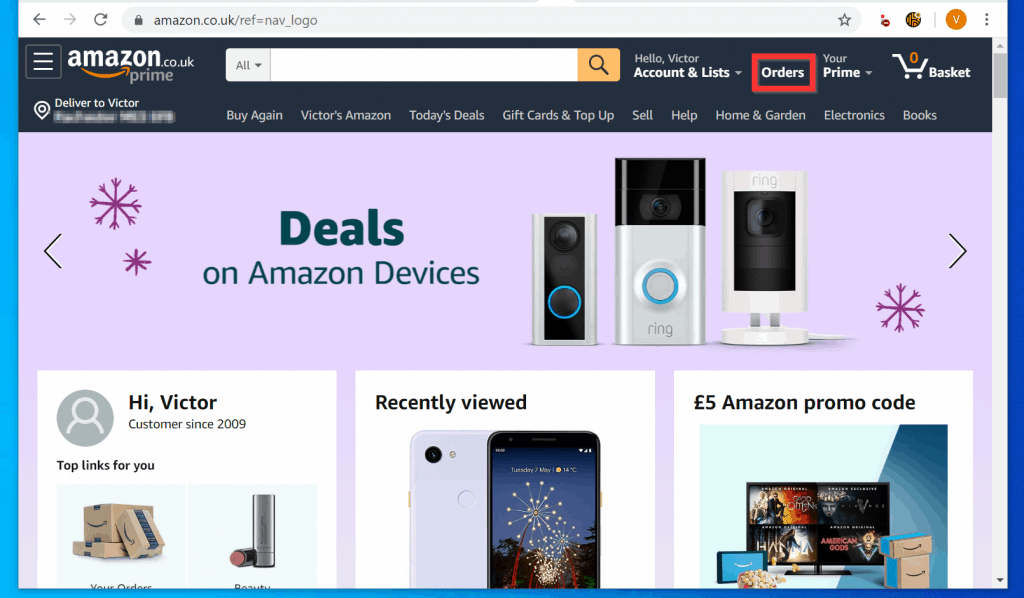 On Amazon How To View Your Archived Orders  - 2 Methods 4